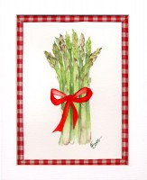 Asparagus with Ribbon