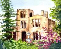 Barnsley Manor House Ruins