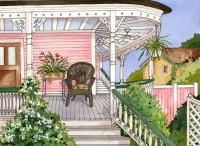 Beaufort Inn Porch