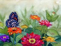 Butterfly Garden #1 - Viceroy Butterfly