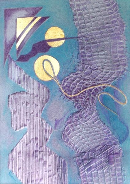 Flight of Fantasy 2 – Mixed Media Embossing