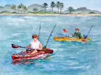 Fripp Inlet Kayakers