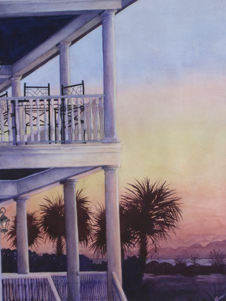 Fripp Island Sunrise – View from My Window