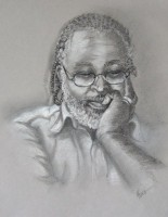 Just Thinking - Charcoal - Hank D. Herring