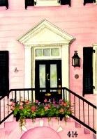 Pink House - The William Johnson House - Beaufort,, SC