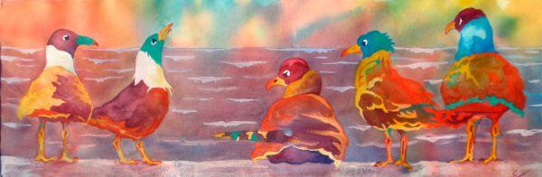 Sea Gulls on Speed
