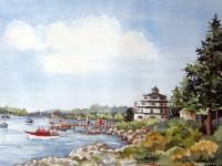 Sebaco Harbor Light House, Maine