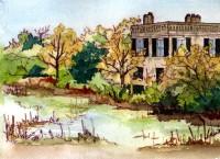 The Castle Moat - Dr. Joseph Johnson House - Beaufort, SC