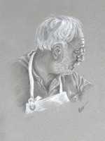 Woodcrafter - Black & White Charcoal