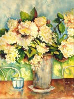 old south's glory - Annabelle Hydrangeas