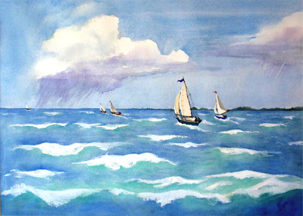 Racing the Squalls